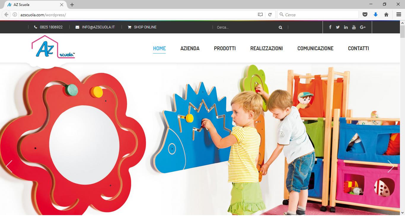 Nuovo sito AZ Scuola